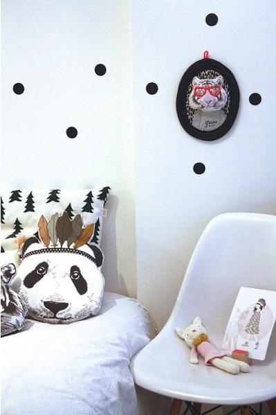 Coussin panda minimel/MySweetFamily