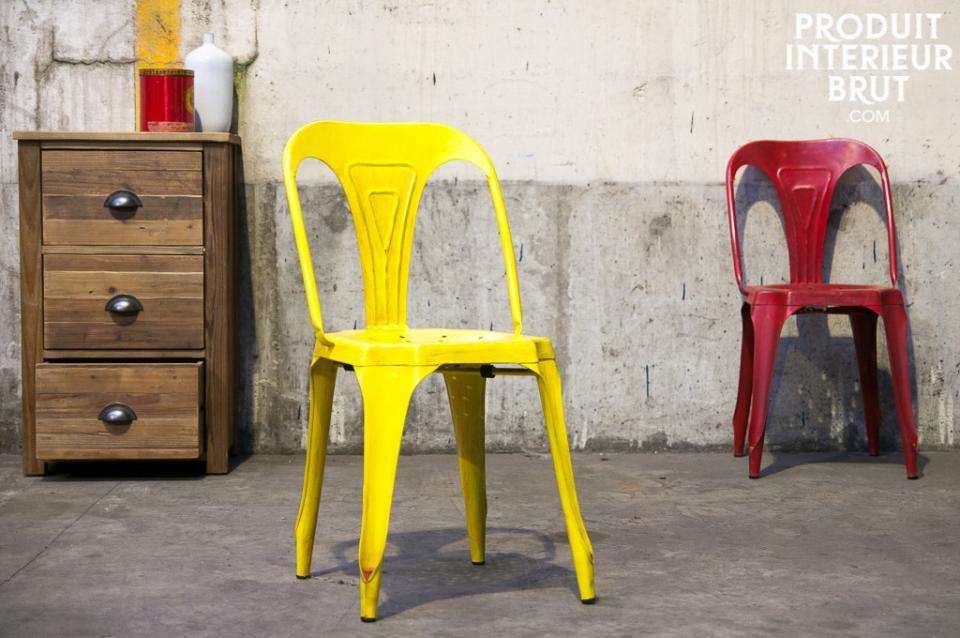 Les chaises d'inspirations Tolix ont le vent en poupe